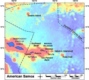 Figure 1. Map of American Samoa.