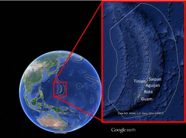 Figure 1- survey area