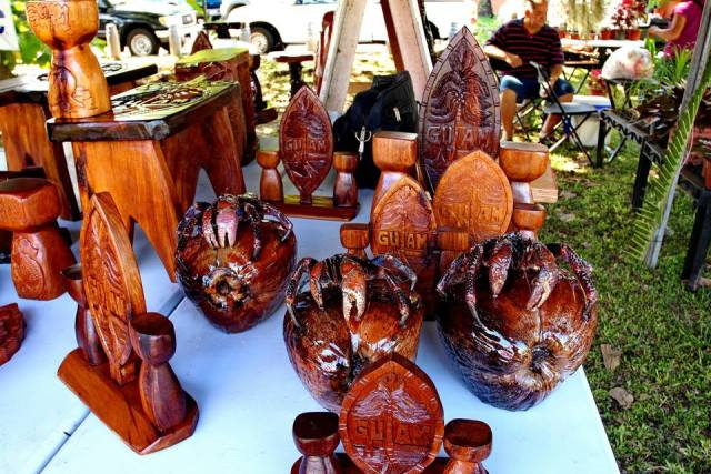 Some of the arts and crafts showcased at the 15th Annual Gupot Y Peskadot. Photo Credit: Edward B. San Nicholas