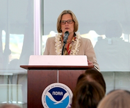 Dr. Kathryn Sullivan, Undersecretary of Commerce for Oceans and Atmosphere and NOAA Administrator