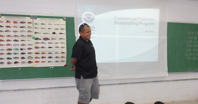 Cruz presents on biosampling program in Guam