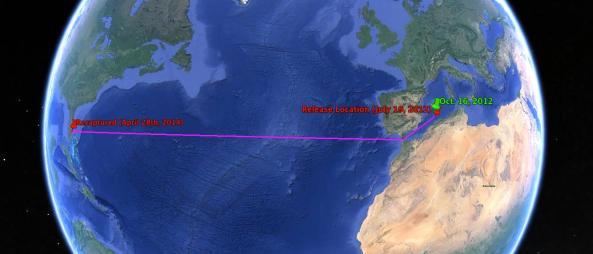 transatlantic route