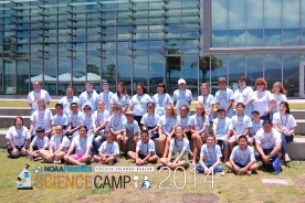 Science Camp Session 1 group photo