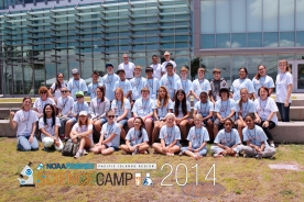 Science Camp Session 2 group photo