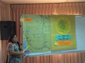 Presentation of EAFM plan for Lingayen Gulf.