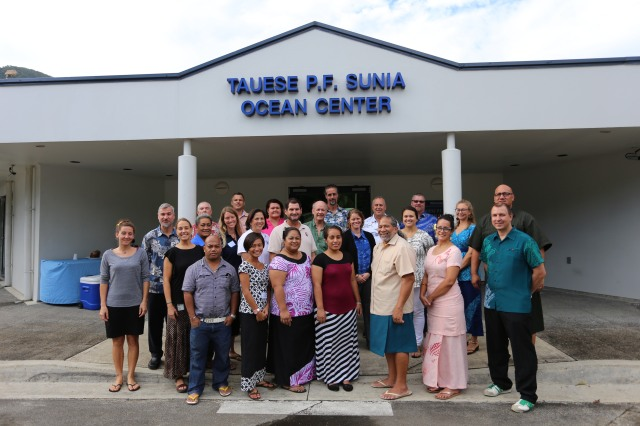 Participants of 2015 Rose Atoll Marine National Monument and American Samoa Ecosystem and Fisheries Research Workshop