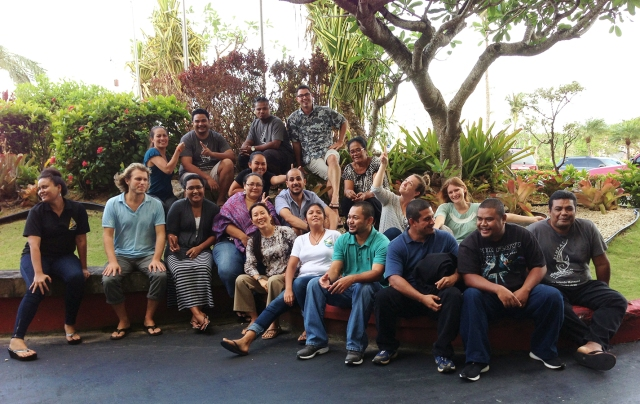 Participants in the Micronesia Challenge's 2nd Socioeconomic Measures Workshop.