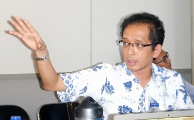 Dr. Luky Adrianto of Bogor Agricultural University.