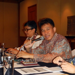 Pak Aryo Hanggono, Director of Fisheries Resources.