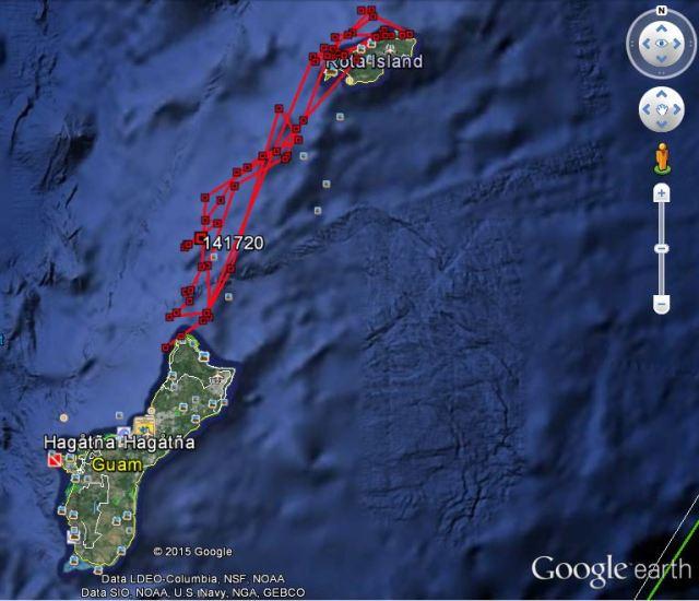 Figure5-Bottlenose dolphin satellite tag track_Sept2-7