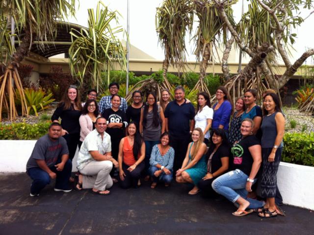 Core SEM team members with Guam participants and facilitators.