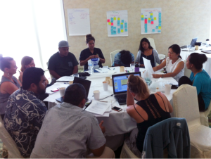 Core SEM team members and facilitators discussed topics for next training workshop in 2016