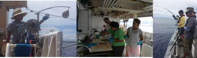 Figure 5. MAF staff participating in the various SE16-01 operations.