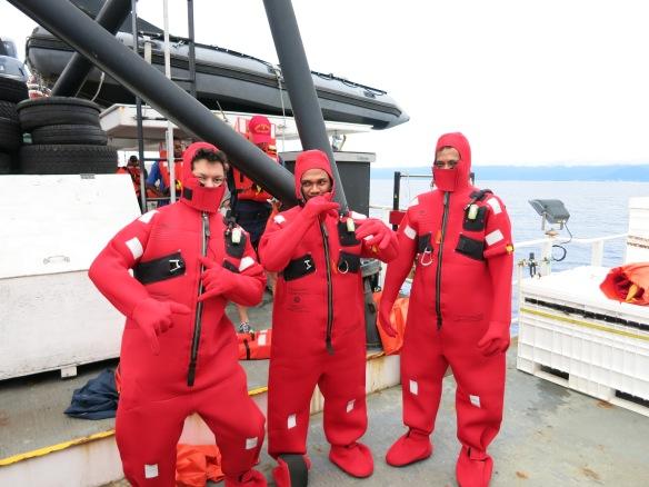 Figure 6. MAF staff, keeping things safe!