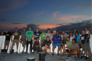 The scientific diver team and members of the Oscar Elton Sette crew.