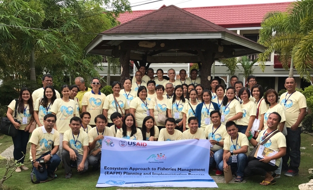 Participants in the EAFM planning workshop in Calbayog, Philippines from January 30-February 2, 2017.