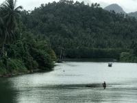 The wide river that flows through Calbayog. Photo: NOAA Fisheries/Supin Wongbusarakum