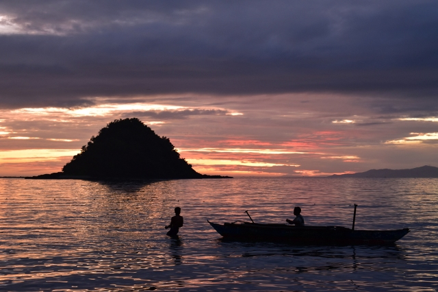 Sunset in Calbayog