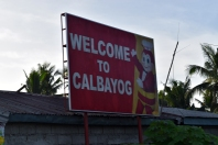 Welcome to Calbayog. Photo: NOAA Fisheries/Supin Wongbusarakum