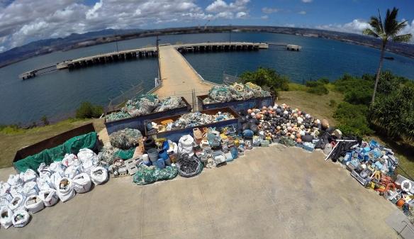 Marine Debris pile